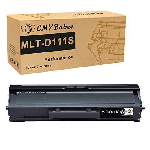 CMYBabee Compatibile Cartuccia Toner Sostituzione per Samsung MLT-D111S D111S per Samsung Xpress M2070W M2070 M2070FW M2026W M2026 M2020 M2020W M2022 M2022W (Nero, 1 Pezzo)