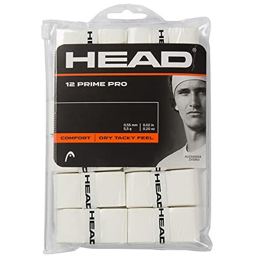 HEAD 12 Prime PRO, Accessori Tennis Unisex Adulto, Bianco, Taglia unica