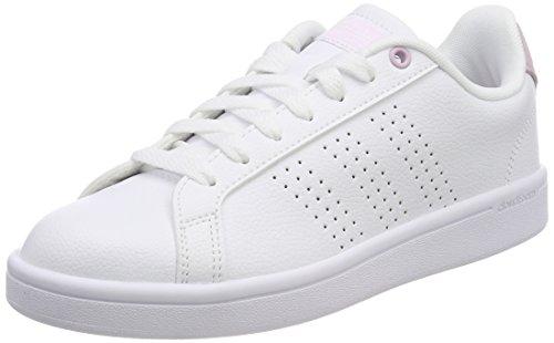 Adidas CF Advantage Cl, Zapatillas de Deporte para Mujer, Blanco (Blanco 000), 36 EU