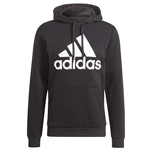 adidas Speisekarte M BL FL HD Kapuzenschweiß, Black/White, M