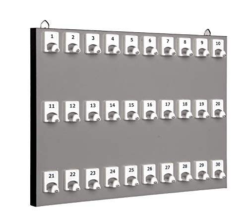 KeyStand # 30pgs con 30ganchos numerados para oficinas de bienes inmuebles y...
