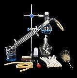 Sucastle Kit de 10 Piezas de destilador de Aceite Esencial con Alcohol, Industrial Purificación...
