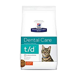 Hill's Prescription Diet Feline T/d 1.5kg Foods - cat - sqp Certified