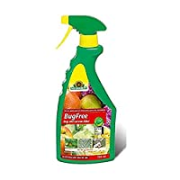 Active ingredient content 0.045 g/L pyrethrins and 8.25 g/L rapeseed oil Ready to use spray to control mature insects, their larvae and their eggs Effective against sucking and biting insects such as aphids, thrips, spider mites, whitefly, mealy bugs...