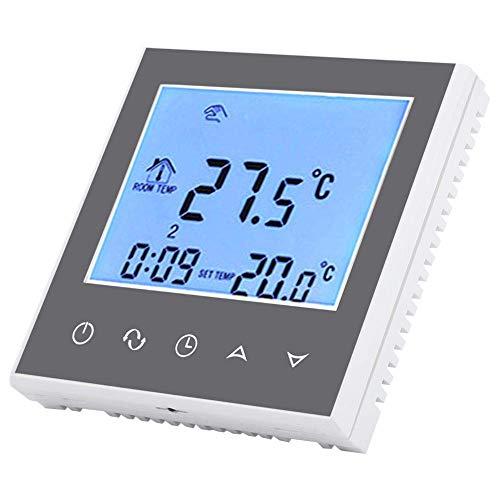 YUQIYU Termostato Digital, Display LCD Wirless Temperatura inteligente WIFI Termostato programable digital de control de controlador CAN válvula motorizada bola motorizada válvula (# 2)