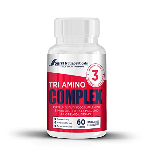 Premium L-Arginine L-Ornithine L-lysine. for Muscle Growth, Vascularity & Energy - Powerful Tri-Amino Complex.