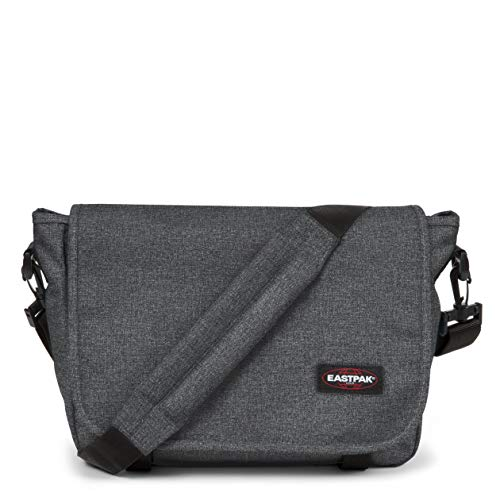 Eastpak Unisex JR, Grau (Black Denim), 33 cm