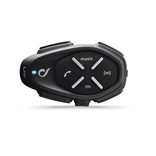 Cellularline Interphone Bluetooth 4.2 Motorrad Freisprecheinrichtung Gegensprechanlage Headset