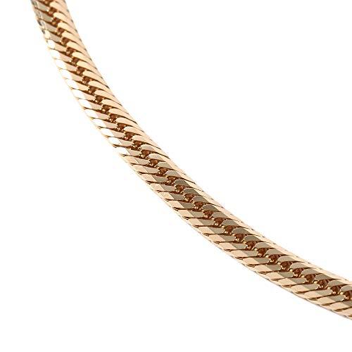 18金 喜平 ネックレス 8面 トリプル 30g - 50cm 中留(中折) ゴールド メンズ レディース チェーン K18 造幣局検定マーク刻印入
