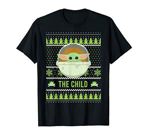 Star Wars The Mandalorian The Child Ugly Christmas Style T-Shirt