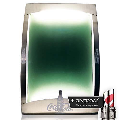 Coca Cola Leuchtreklame Speisekarte Leuchtkasten Schaukasten Reklame NEU + anygoods Flaschenausgiesser