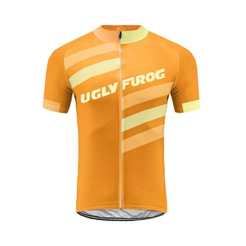 Uglyfrog Maillot Cuissard Cyclisme Homme Manche Courte Tenue Velo Route Equipe Pro Été