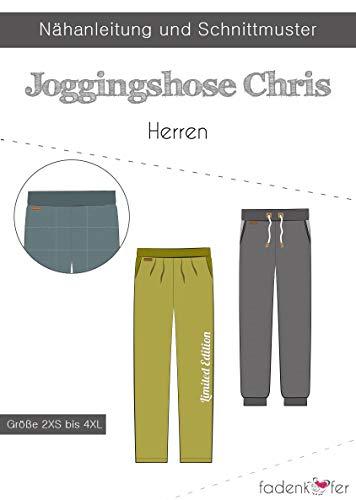 Schnittmuster und Nähanleitung - Herren Joggingshose - Chris