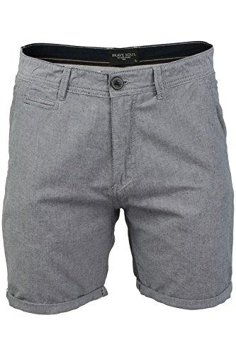 Brave Soul Herren Chino Shorts (Marine) S