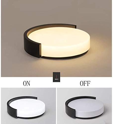 RJFAB LED plafondmontage ronde verlichting voor kasten, keukens, trappen, open haarden, badkamer,