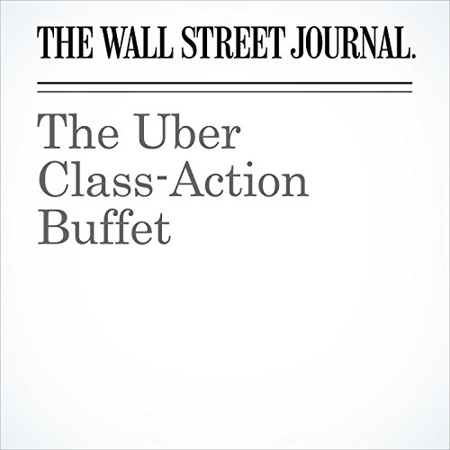 The Uber Class-Action Buffet audiobook cover art
