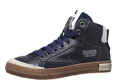 Momino 2123N Hohe Sneakers Chucks, Blau (9881 Epochal Navy), 34