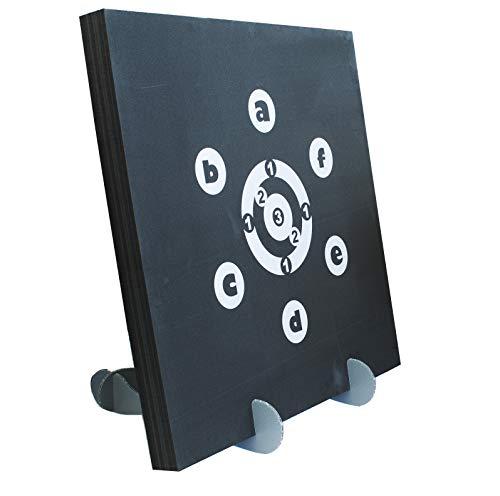 Yate Startet Set, Zielscheibe für Bogenschießen/Bogensport/Bogen 90x90x7cm  Gewicht: 2.8kg