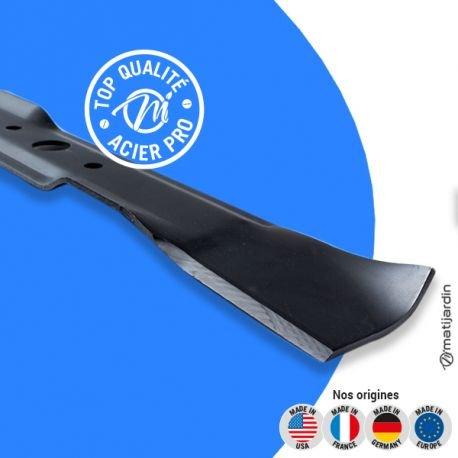 Matijardin - Lame tondeuse compatible John Deere LX279 M139976 coupe 54,4 cm - Pièce neuve