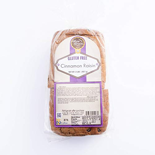 New Grains Gluten-Free Cinnamon Raisin Bread (1 Loaf)