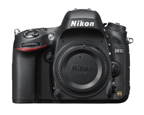 Nikon D610 24.3 MP CMOS FX-Format Digital SLR...