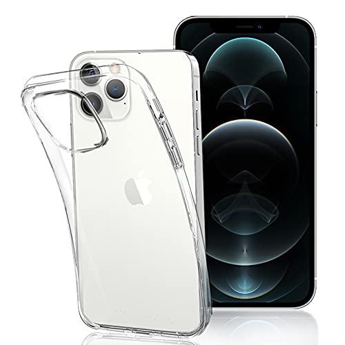 FOR iphone 13 pro 6.1 用のケースクリア 透明 TPU カバー FOR iphone 13 pro 6.1 用のカバー クリアカバー 薄型 軽量 耐衝撃 擦り傷防止吸収柔らかい手触り クリア FOR iphone 13 pro 6.1 用の 全面保護カバー