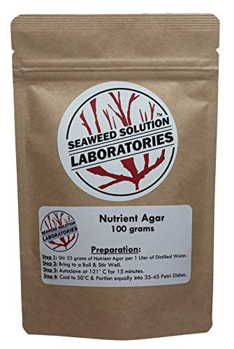 Nutrient Agar 100 grams by Seaweed Solution Laboratories