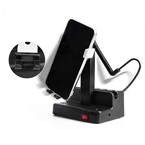 Seltureone Handyschaukel Kompatibel für Pokemon GO Plus Steps Counter Zubehör, Schritte Verdienen Handy Schrittzähler, Automatisch Phone Shaker (kein Magnet, kein Gummiband, Stummschaltung) -Weiß