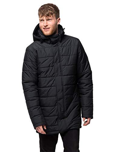 Jack Wolfskin Abrigo para hombre Svalbard Coat-1204501, Hombre, 1204481, negro, M