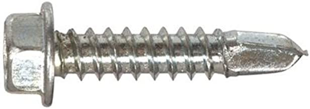 The Hillman Group 47224 1/4-14 x 1-Inch Hex Washer Head Self Drilling Screw