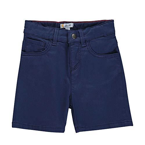 Steiff Baby-Jungen Shorts, Blau (Black Iris 3032), 80 (Herstellergröße: 080)