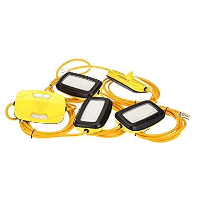 Southwire 7165SW LED String Lights, 100 Feet, Foot, Yellow