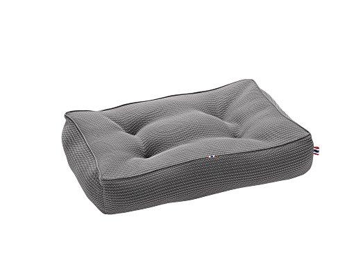 TORONTO Hunde-Steppbett, Meshmaterial, 60x40 cm, grau
