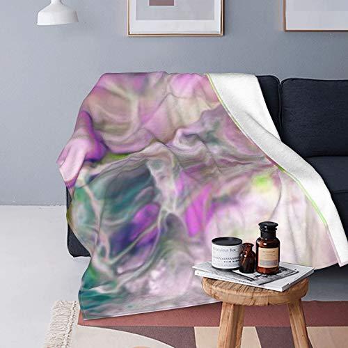 DUTRIX Creativa, colorida abstracta, moderna, increíblemente suave, manta de forro polar, 150 x 125 cm
