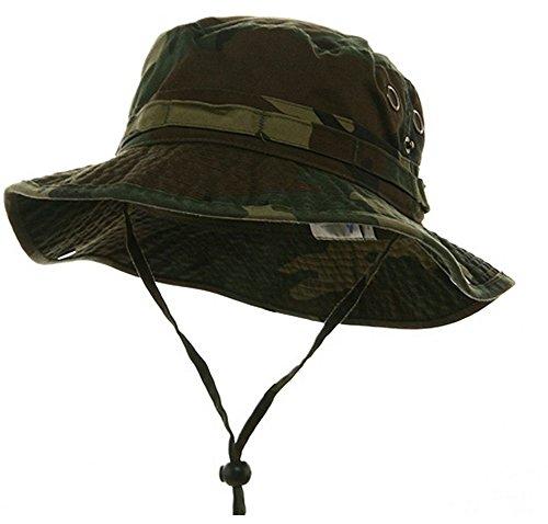 Mega Cap Washed Hunting Hat-Camo XL