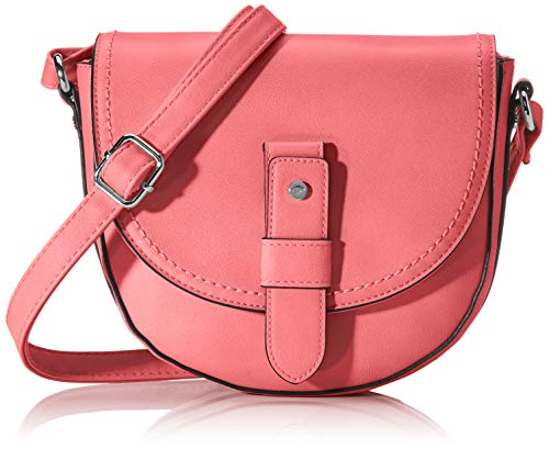 TOM TAILOR Umhängetasche Damen, Pink, Matera, 20x7x19 cm, Handtasche, Schultertasche