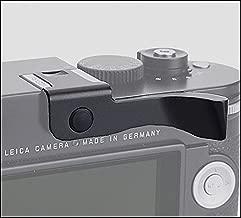 JFOTO LM-G Thumbs Up Grip Designed for Leica M, M-P, Typ240, M240, M246, Typ246, M262, M-D, M240P, better balance & grip convenience, Camera Black Metal Hand Grip