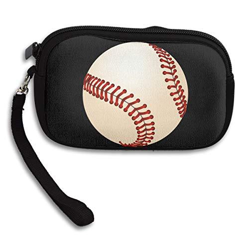 Iop 90p Baseballtasche mit Reißverschluss, Handtasche und Schulterriemen, Schwarz, Einheitsgröße
