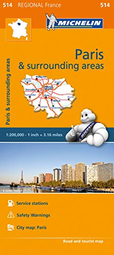 Preisvergleich Produktbild Michelin Travel & Lifestyle: Ile-de-France - Michelin Region: Map (Mapas Regional Michelin,  Band 514)