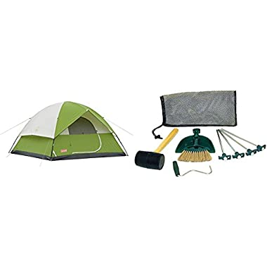 Coleman Sundome 6 Person Tent - Green w/Tent Kit