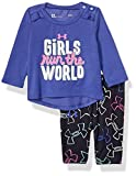 Under Armour Baby Girls Tee and Legging Set, Deep Periwinkle H19, 18M
