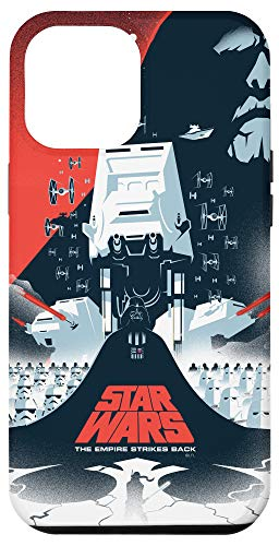 iPhone 12 Pro Max Star Wars The Empire Strikes Back Illustrated Movie Poster Case