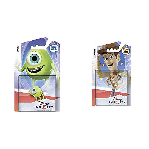 Nintendo Disney Infinity Figura Monstruos: Mike + Disney Infinity Figura De Woody