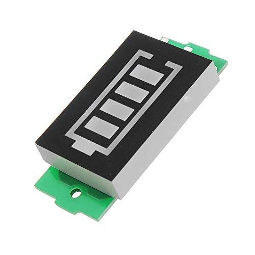 Busirsiz 1S / 2S / 3S / 4S de litio batería Indicador de encendido de la Electric Vehicle energía de la batería Indicador 4V / 8V / 12V / 16V de almacenamiento de energía módulo de medición (Tamaño: 1