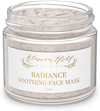 ORGANIC Clay Face Mask Natural Anti Aging Facial Treatment for Dry Oily or Normal Skin Clean product image