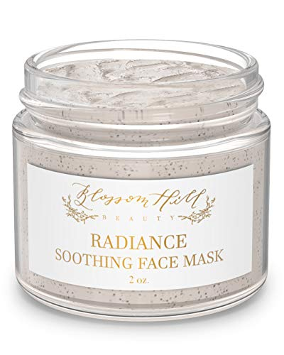 ORGANIC Clay Face Mask - Natural Anti Aging Facial Treatment for Dry, Oily, or Normal Skin - Clean Beauty Skin Care for Hydrating, Cleansing & Exfoliating - Wash Off Detox Body Mud Masks for Women