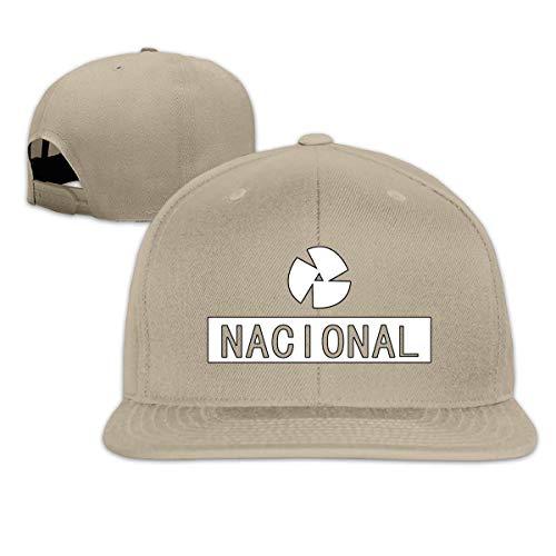 KOMOBB Ayrton Senna Unisex Classic Snapback Hat Flat Bill Baseball Cap