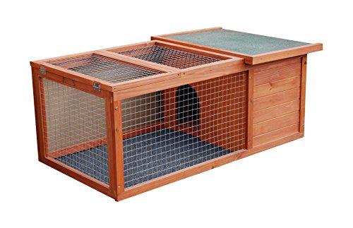 Lifland Cage d'extérieur Rabbit Space pour Lapin et Cochon d'Inde