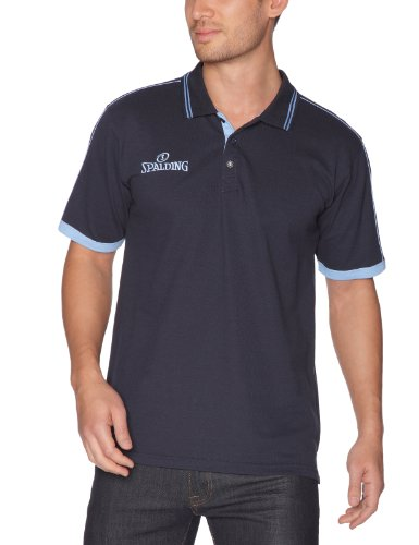 Spalding Teamtrikots & Sets Polo Shirt - Camiseta de baloncesto para hombre, color azul, talla XXXL (Herstellergröße : 34 ')