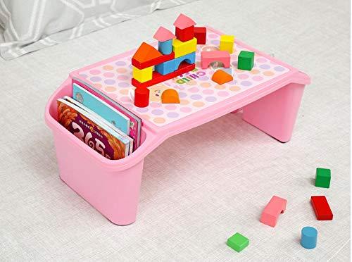 Bukater Mesa para niños de la Primera Infancia Estudia la Mesa de plástico Mesa Multifuncional Mesa de Juguete para niños Mesa pequeña-Mesa de Comedor modelo3